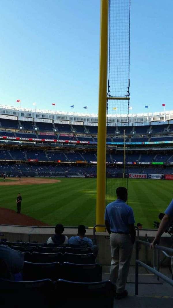 Yankee Stadium, section: 108, row: 9, seat: 1