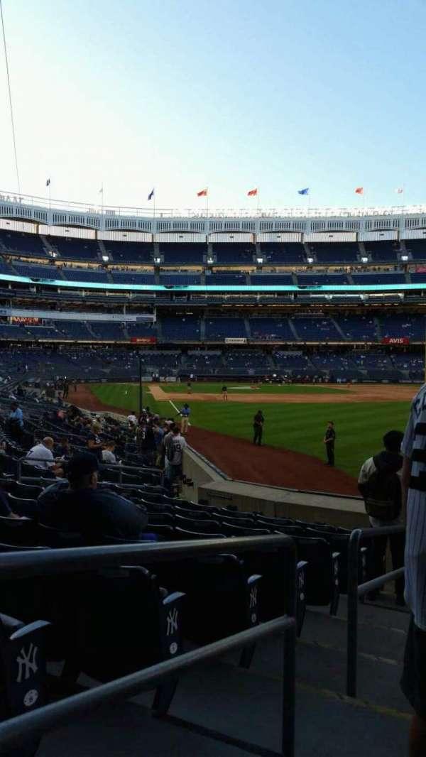 Yankee Stadium, section: 107, row: 9, seat: 15