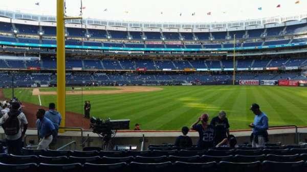 Yankee Stadium, section: 107, row: 9, seat: 9
