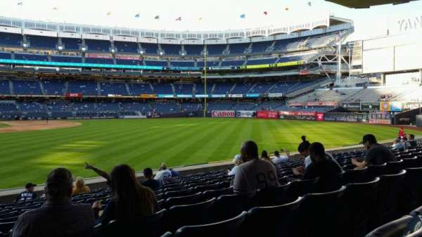Yankee Stadium, section: 105, row: 12, seat: 24