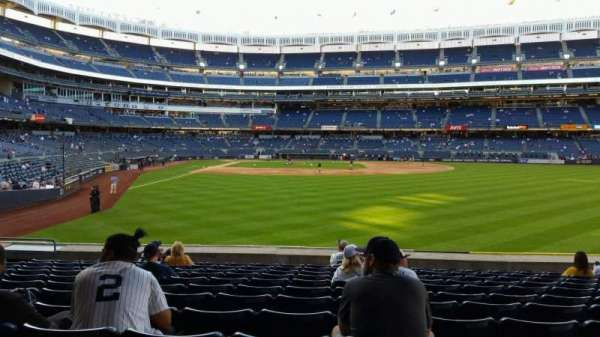 Yankee Stadium, section: 105, row: 12, seat: 13