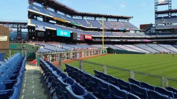 Citizens Bank Park, section: 147, row: 11, seat: 20