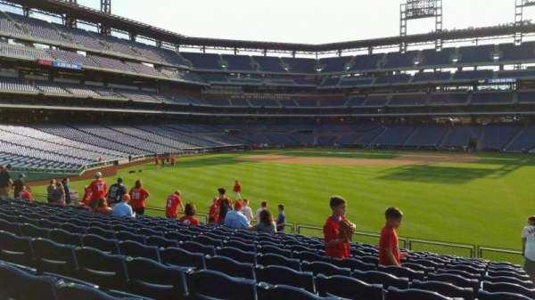 Citizens Bank Park, section: 103, row: 13, seat: 1