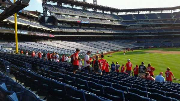 Citizens Bank Park, section: 103, row: 13, seat: 11