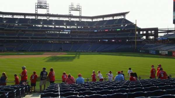 Citizens Bank Park, section: 103, row: 13, seat: 22