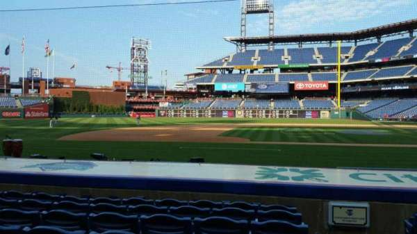Citizens Bank Park, section: 131, row: 7, seat: 1