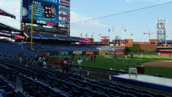 Citizens Bank Park, section: 131, row: 7, seat: 9