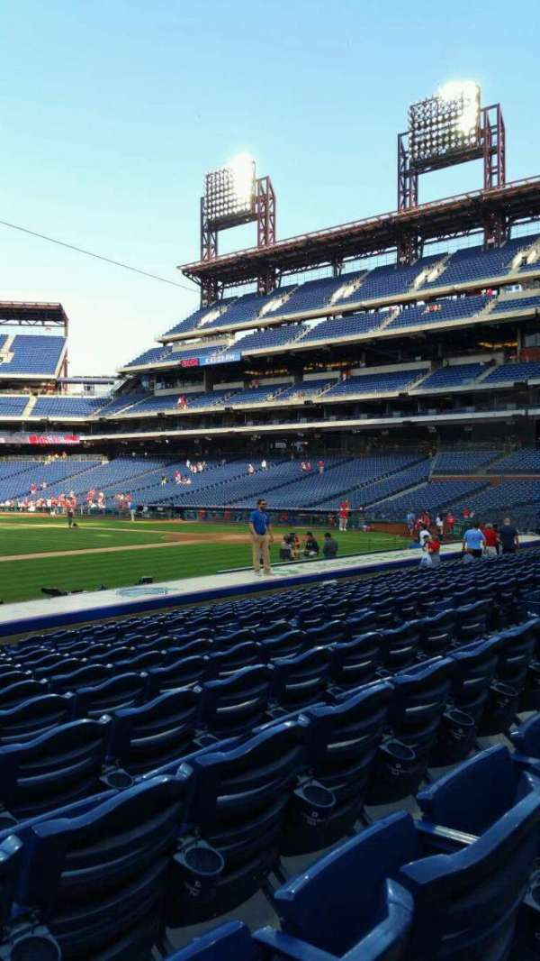 Citizens Bank Park, section: 132, row: 13, seat: 12