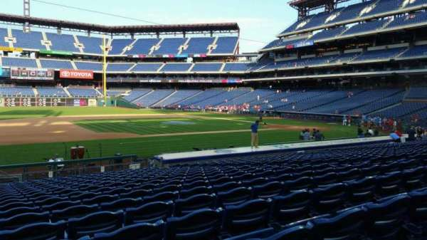 Citizens Bank Park, section: 132, row: 19, seat: 13