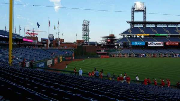 Citizens Bank Park, section: 137, row: 32, seat: 19