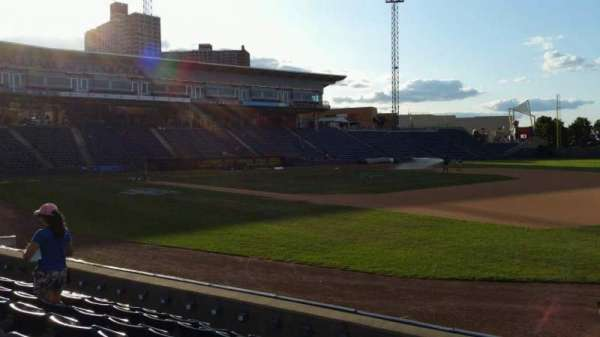 Richmond County Bank Ballpark, section: 14, row: G, seat: 1