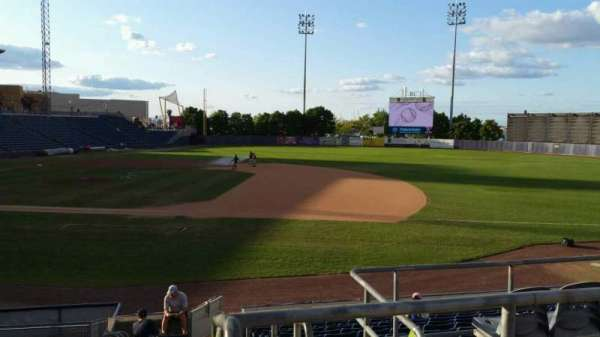 Richmond County Bank Ballpark, section: 13, row: P, seat: 1
