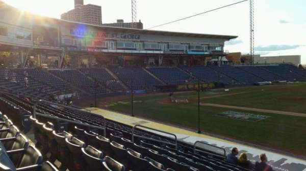 Richmond County Bank Ballpark, section: 13, row: P, seat: 13