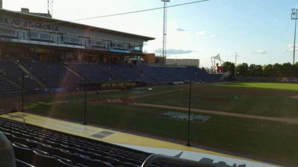 Richmond County Bank Ballpark, section: 13, row: P, seat: 23