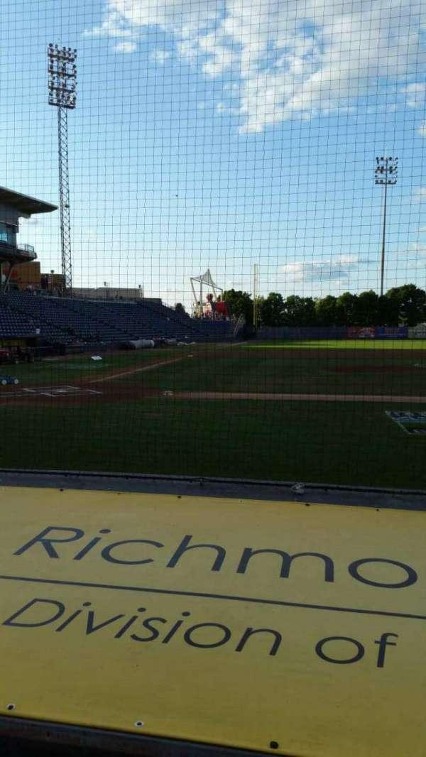 Richmond County Bank Ballpark, section: 11, row: E, seat: 1