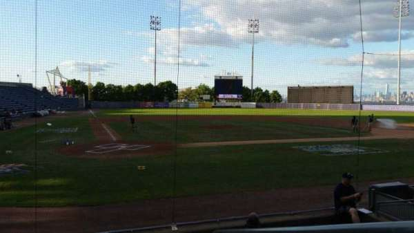 Richmond County Bank Ballpark, section: 10, row: H, seat: 1