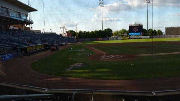 Richmond County Bank Ballpark, section: 10, row: H, seat: 9