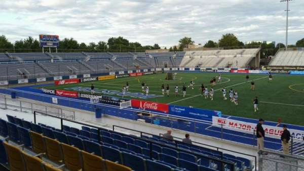 James M. Shuart Stadium, section: 4, row: T, seat: 12