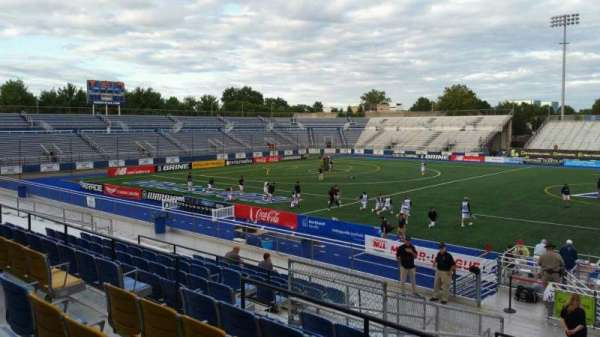 James M. Shuart Stadium, section: 4, row: T, seat: 5