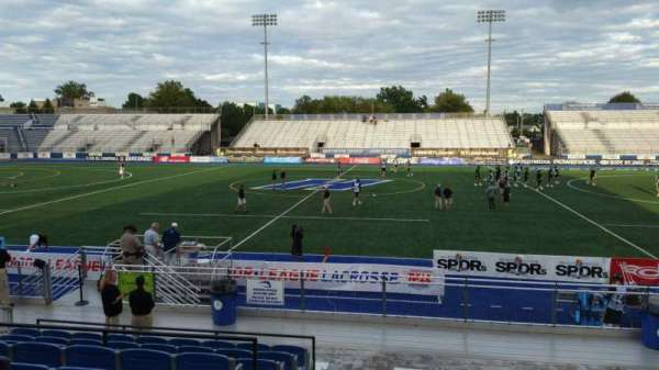 James M. Shuart Stadium, section: 3, row: 16, seat: 27