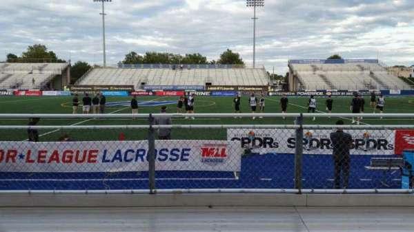 James M. Shuart Stadium, section: 3, row: 3, seat: 27