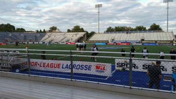 James M. Shuart Stadium, section: 3, row: 3, seat: 20
