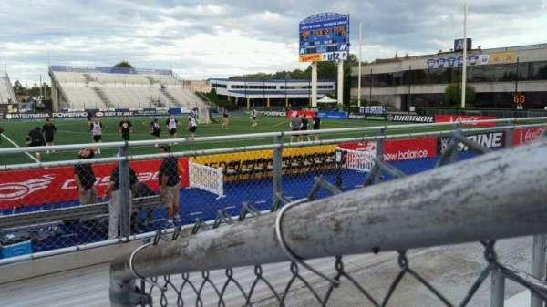 James M. Shuart Stadium, section: 3, row: 3, seat: 13