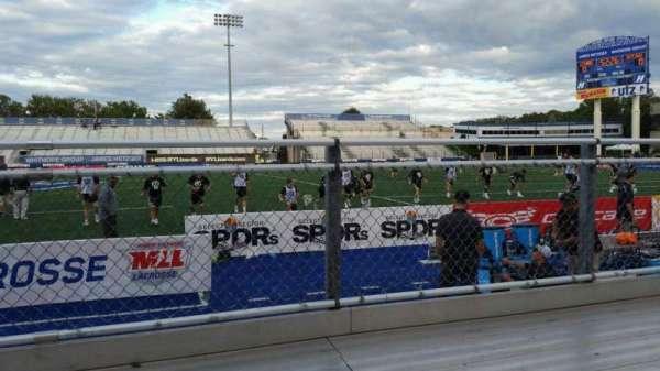 James M. Shuart Stadium, section: 3, row: 1, seat: 27