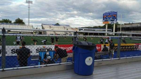 James M. Shuart Stadium, section: 3, row: 1, seat: 21