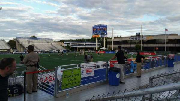 James M. Shuart Stadium, section: 4, row: D, seat: 19