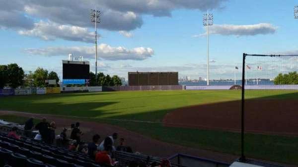 Richmond County Bank Ballpark, section: 5, row: K, seat: 1
