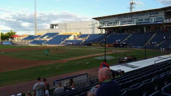 Richmond County Bank Ballpark, section: 5, row: K, seat: 22