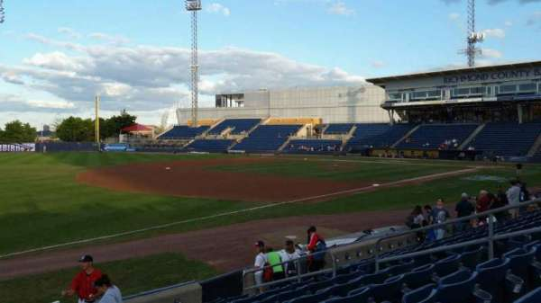Richmond County Bank Ballpark, section: 3, row: K, seat: 11