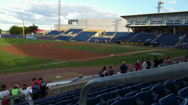 Richmond County Bank Ballpark, section: 3, row: K, seat: 1