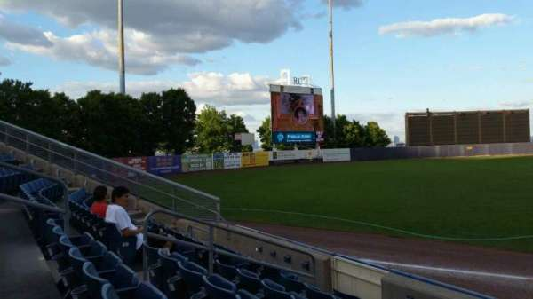 Richmond County Bank Ballpark, section: 2, row: F, seat: 9