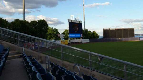 Richmond County Bank Ballpark, section: 1, row: J, seat: 11