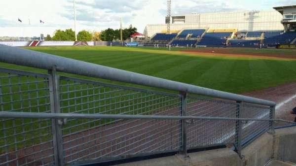 Richmond County Bank Ballpark, section: 1, row: F, seat: 19