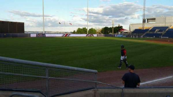 Richmond County Bank Ballpark, section: 1, row: F, seat: 11