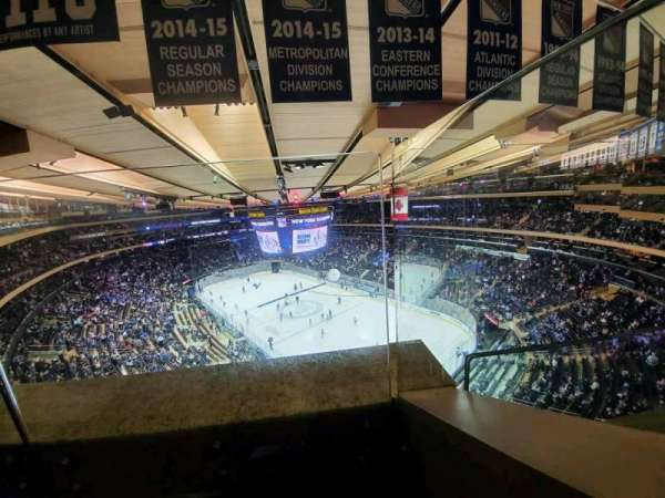 Madison Square Garden, section: 301, row: 1, seat: 16
