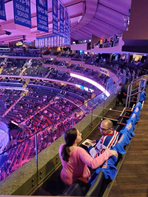 Madison Square Garden, section: 301, row: 2, seat: 16