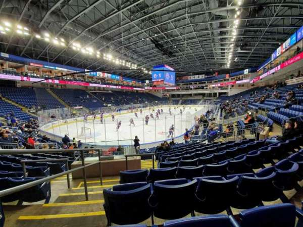 Webster Bank Arena, section: 102, row: J, seat: 18