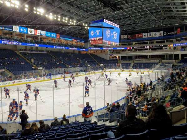 Webster Bank Arena, section: 102, row: J, seat: 10
