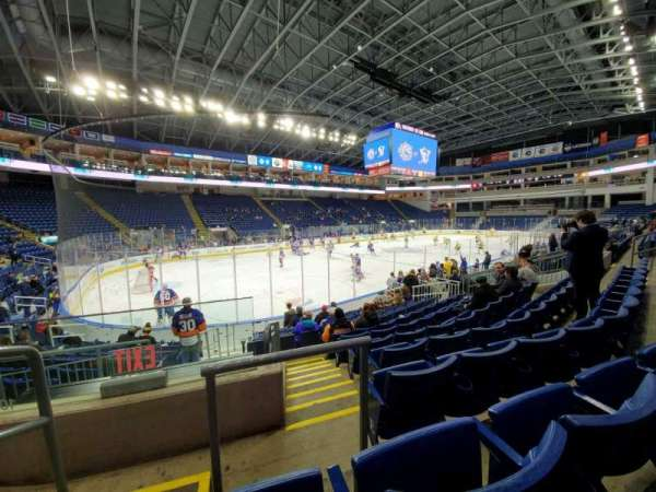 Webster Bank Arena, section: 103, row: G, seat: 16