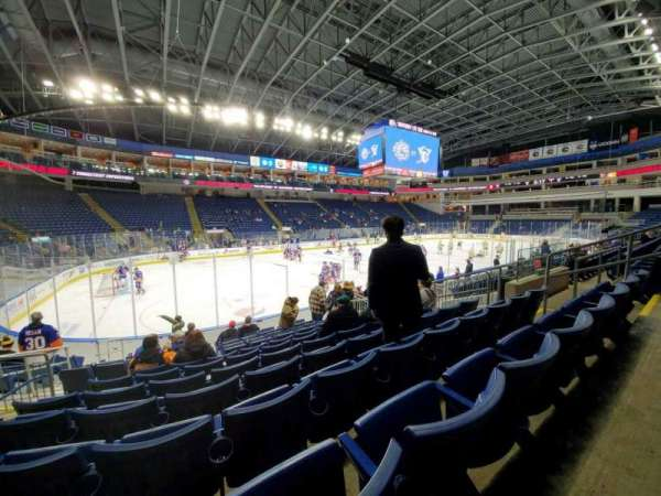 Webster Bank Arena, section: 103, row: G, seat: 9