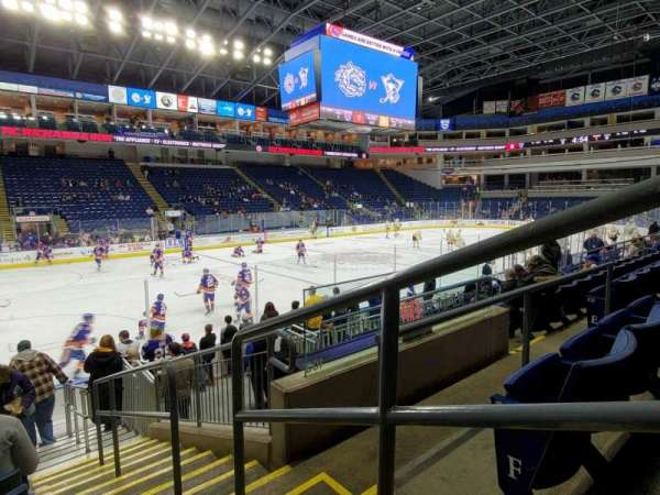 Webster Bank Arena, section: 103, row: G, seat: 1