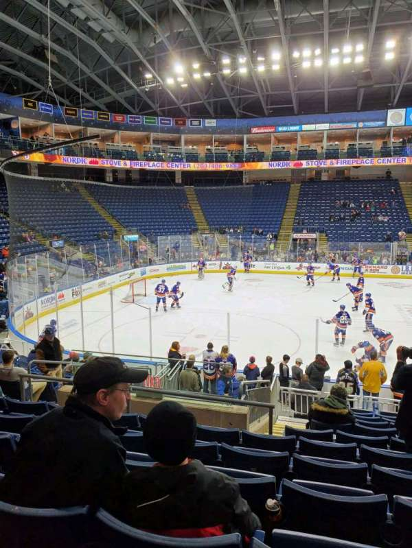 Webster Bank Arena, section: 104, row: L, seat: 17
