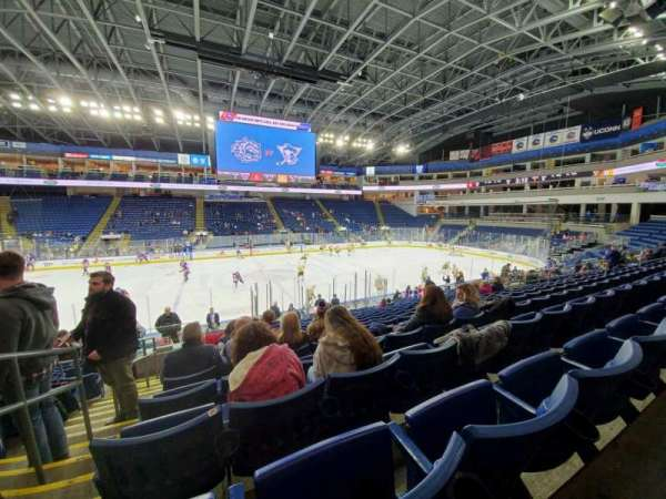 Webster Bank Arena, section: 105, row: N, seat: 24