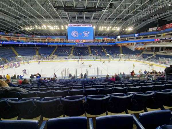 Webster Bank Arena, section: 105, row: N, seat: 13