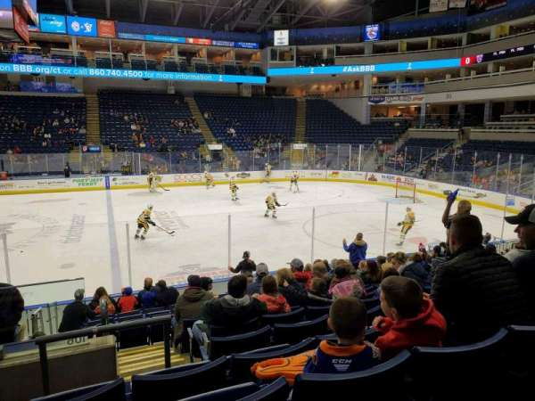 Webster Bank Arena, section: 106, row: J, seat: 24