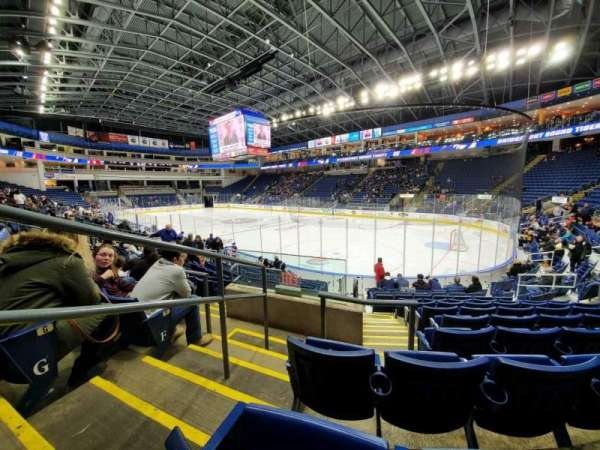 Webster Bank Arena, section: 118, row: H, seat: 17
